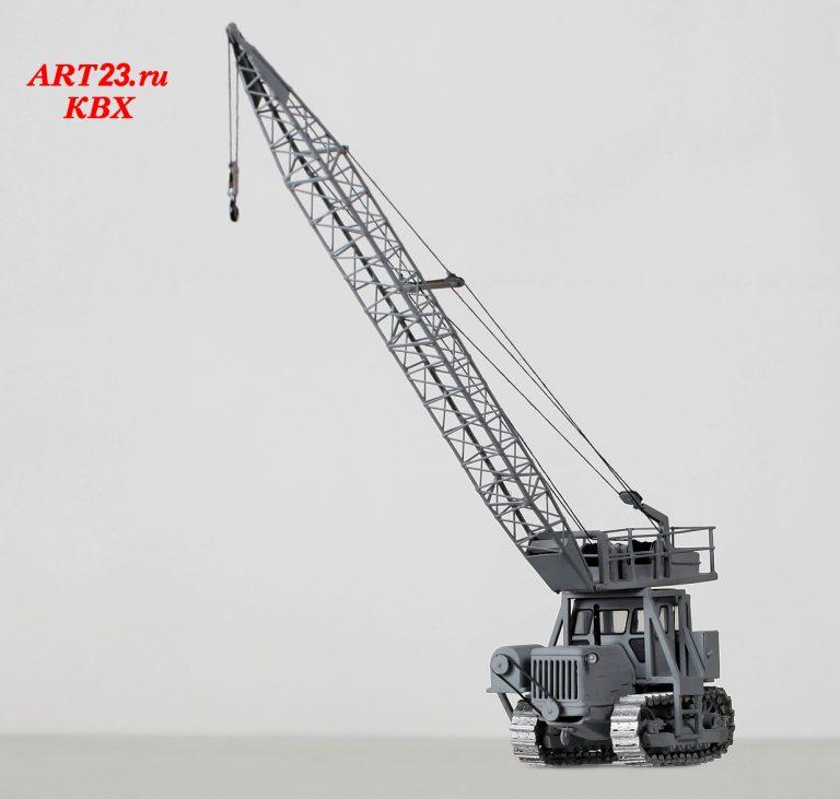 МКТ-6.3 дизель-электрический монтажный кран тракторный на базе Т-100М