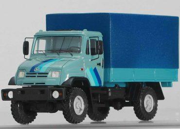 ЗиЛ-432730, ЗиЛ-5301ФБ вседорожный бортовой грузовик с тентом