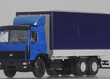 МАЗ-6303 бортовой грузовик для средних и дальних перевозок