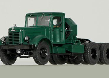 ЯАЗ-210Д седельный тягач для буксировки полуприцепов