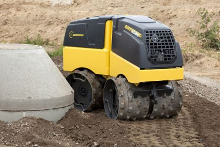 BOMAG BMP 8500 articulated roller