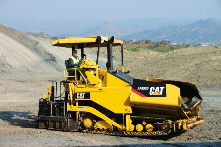 Caterpillar AP655D road crawler Asphalt Paver