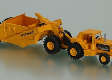 M-R-S I-250, Mississippi Road Services, 4х2 wheel tractor + wooldridge cable scraper OS-50
