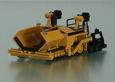 Caterpillar AP 1050/Barber-Greene BG-245B crawler Asphalt Paver