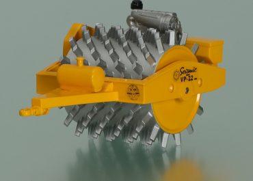 BROS Seismic VP-22 Sheepsfoot compactor