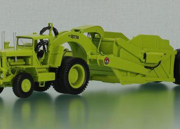 Euclid SS40 self-propelled Scraper and truck Euclid 43LDT, semi-trailer 51SH