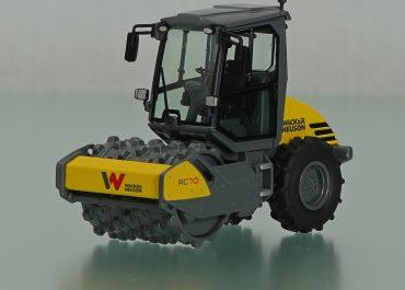 Wacker Neuson RC70p single drum soil compactor