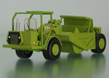 Terex TS14B truck B20UOT articulated Scraper B97SH