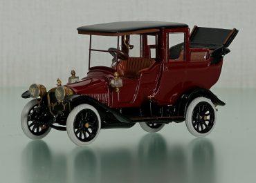 Руссо-Балт С24/35 серия VII автомобиль с кузовом ландоле