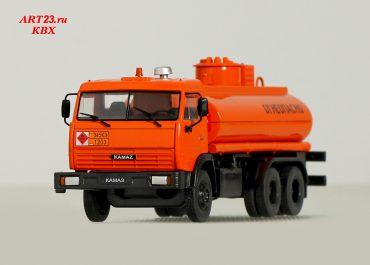 НефАЗ-6606 автоцистерна для перевозки светлых нефтепродуктов и заправки техники на шасси КамАЗ-53215