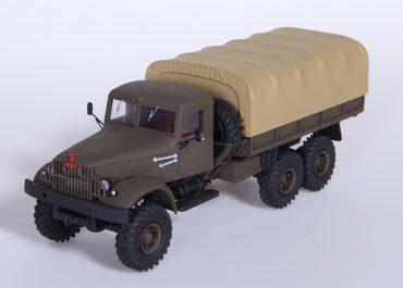 ЯАЗ-214/КрАЗ-214/214Б 6х6 многоцелевой бортовой автомобиль для буксировки прицепов