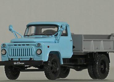 САЗ-3504 строительный самосвал задней выгрузки на шасси ГАЗ-52-02