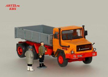 Magirus-Deutz 290D26L бортовой грузовик для работы в тяжёлых условиях