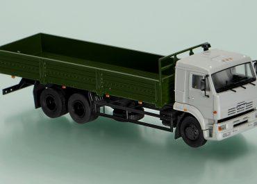 КамАЗ-65117 бортовой автомобиль-тягач