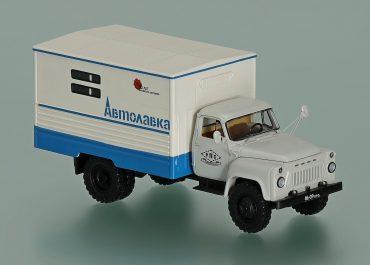 КАвЗ-664 автолавка —  фургон для передвижной розничной торговли на шасси ГАЗ-53А