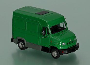 ЗиЛ-5301НС «Бычок» короткобазный фургон