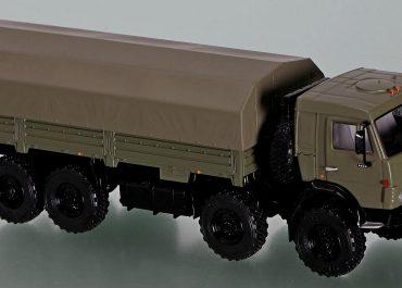 КамАЗ-6350 «Мустанг» 8х8 бортовой вседорожный грузовик