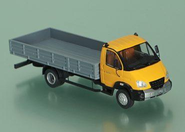 ГАЗ-331061 «Валдай» бортовой грузовик с удлиненной базой