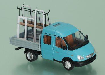 ГАЗ-33023 «Газель Фермер» грузопассажирский автомобиль с 2-рядной кабиной