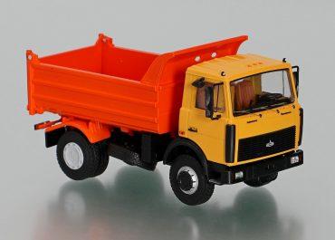 МАЗ-555102-223 самосвал задней выгрузки для перевозки сыпучих грузов