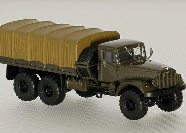 КрАЗ-255Б 6х6 грузовой автомобиль повышенной проходимости