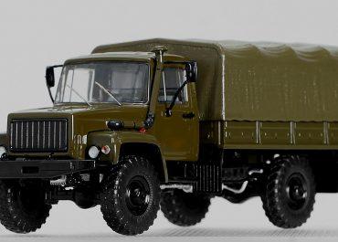 ГАЗ-33081 «Садко» 4х4 бортовой грузовик с лебедкой