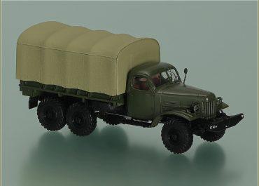 ЗиЛ-157/157К/157КД 6х6 бортовой грузовик
