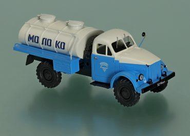 АЦ-18-63 автоцистерна для перевозки молока на шасси ГАЗ-63 4х4