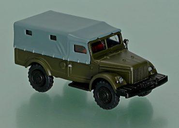 ГАЗ-62 4х4 опытный, грузопассажирский транспортер-вездеход