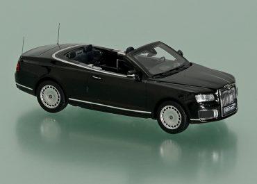 НАМИ-412314-01 Аурус/Aurus 4х4 парадный кабриолет МО РФ