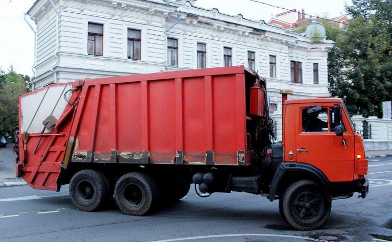 КО-427 мусоровоз задней загрузки на шасси КамАЗ-53212