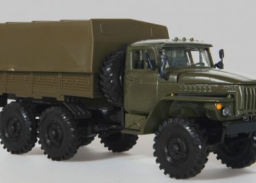 Урал-4320-01 6х6 армейский многоцелевой бортовой грузовик