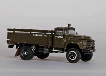 ЗиЛ-130-66 «Учебный» бортовой грузовик для обучения курсантов автошколы ДОСААФ СССР