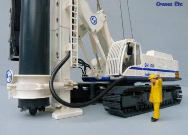 Soilmec SR-100 crawler combined Face Drilling Rig