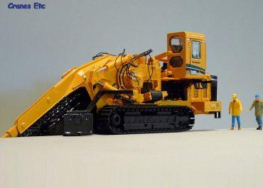 Vermeer T1255 Commander 3 crawler track trencher