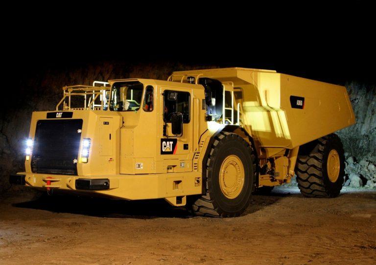 Caterpillar AD60 articulated Underground Truck