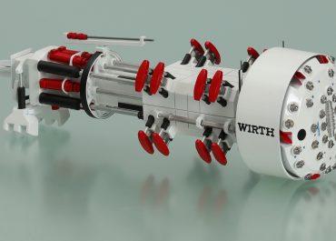 Wirth Drilling Tunneling machine