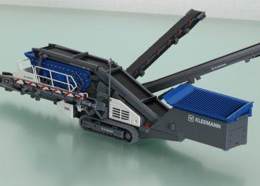 Kleemann MobiScreen MS 703 EVO track-mounted screening plant