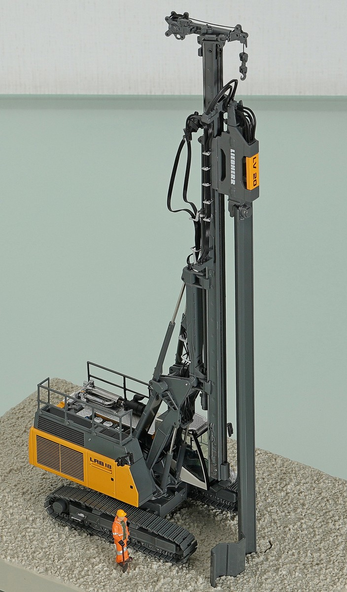 Liebherr LRB 18 Litronic Piling and Drilling Rig