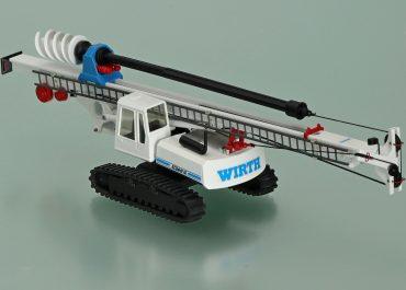 Wirth ECOdrill 10 universal drill rig on the base Sennebogen SR26