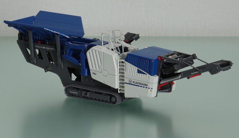 Kleemann Mobicat MC 120 Z PRO track-mounted jaw crushers