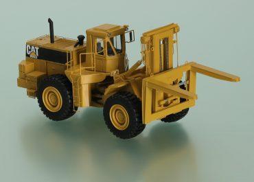 Caterpillar DV43, 988B RTCH, rough terrain container handler