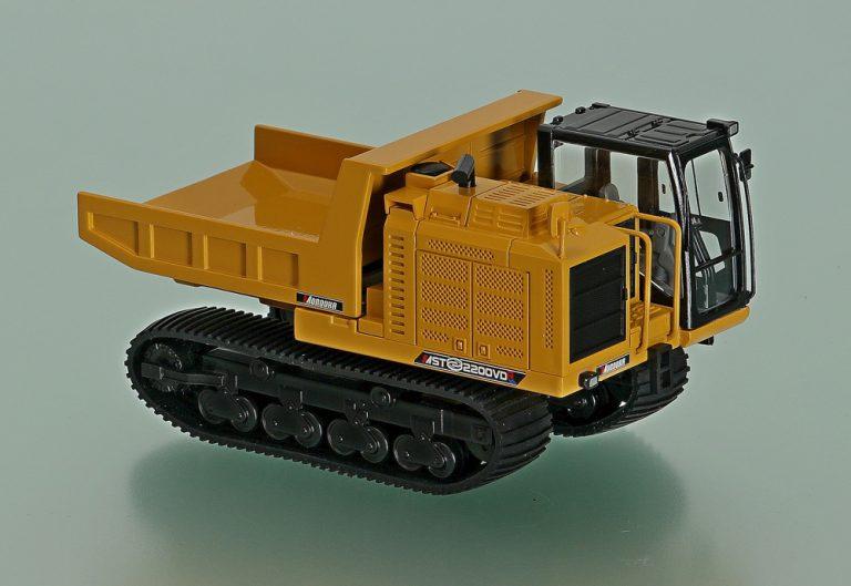 Morooka MST-2200VDR rubber-crawler dump truck