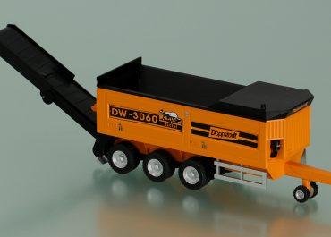Doppstadt DW3060 mobile shredder