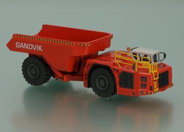 Sandvik TH663 articulated underground dump truck