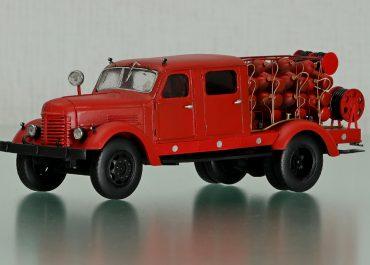 ПАУТ пожарный автомобиль углекислотного тушения на шасси ЗиС-150