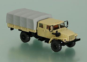 Урал-43206-0551 4х4 бортовой грузовик