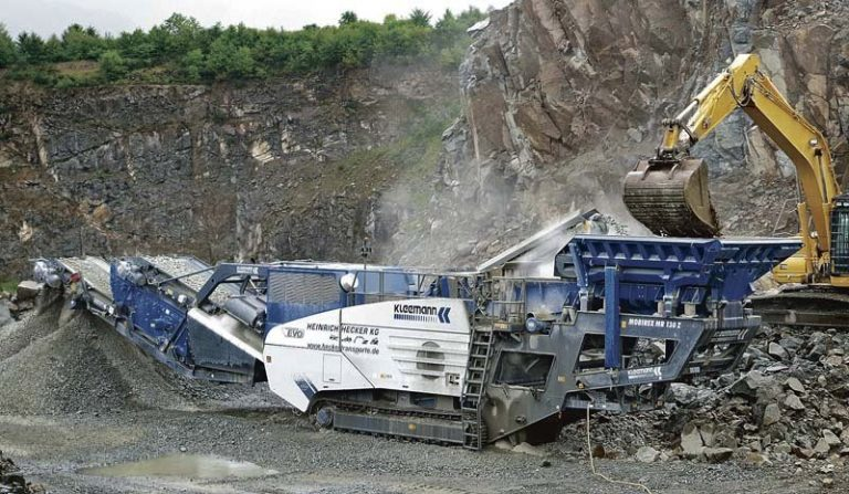 Kleemann MobiRex MR 130 Z EVO2 track mobile impact crusher