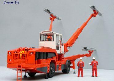 Sandvik DT1130i wheel electrohydraulic drilling rig, Rotary Blasthole Drill