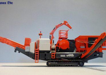 Sandvik UJ440i Mobile Crushing Unit